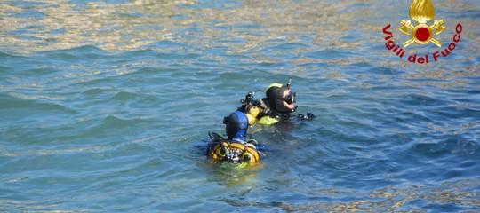 Recuperatoilcorpo diuno dei 3 dispersi in mare ad Acireale