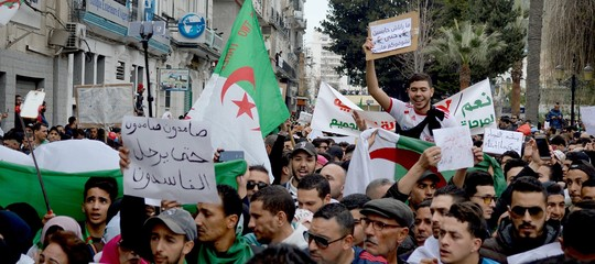 algeria bouteflikamanifestazioni