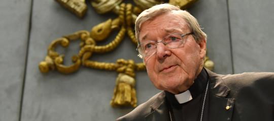 Pedofilia condannato cardinale Pell
