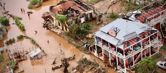 ciclone Idaibambini colpiti