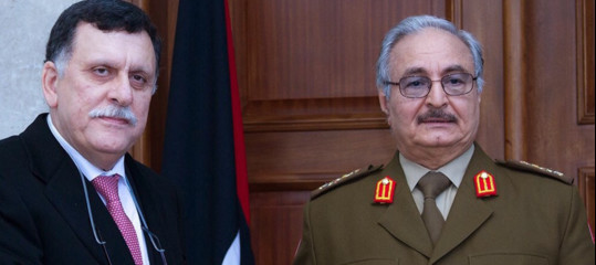 L'Onu annuncia l'accordoSerraj-Haftarper elezioni generali in Libia