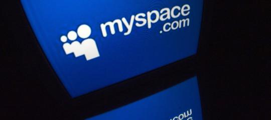 myspacecancella file canzoni