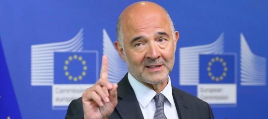 Moscovici conti Italia