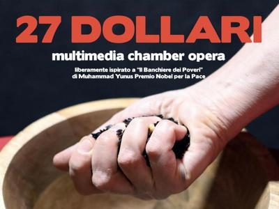 '27 dollari' in prima mondiale a Fano per il Nobel Yunus