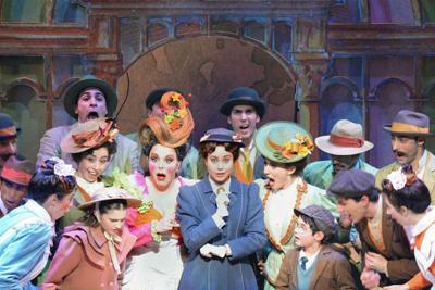 Mary Poppins atterra a Roma