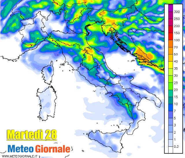 immagine 2 articolo meteo italia treno di perturbazioni