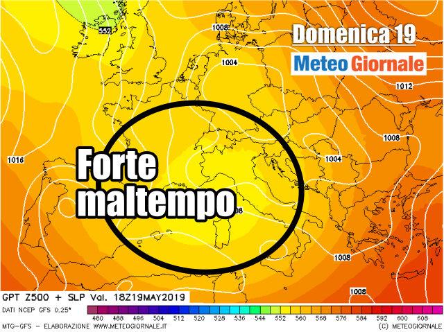 immagine 2 articolo meteo lungo termine europa e italia trend