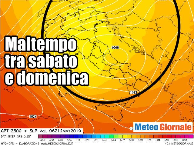 immagine 1 articolo previsioni meteo weekend peggioramento per tutta italia