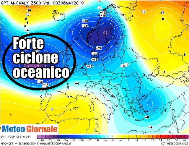 immagine 1 articolo tendenza meteo europa freddo e piovoso in molte aree