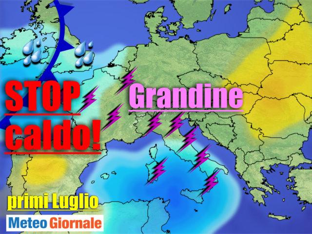 immagine 1 articolo meteo anticiclonico e caldo poi temporali