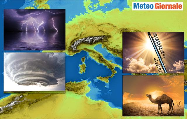 immagine 1 articolo meteo estremo in italia ed europa previsioni