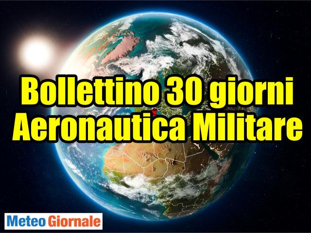 Aeronautica militare meteo