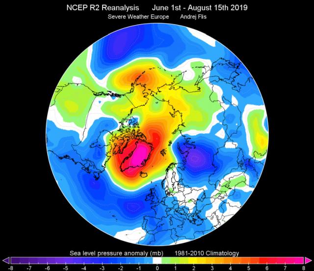 immagine 1 articolo artico ghiacci minimo possibili implicazioni meteo inverno