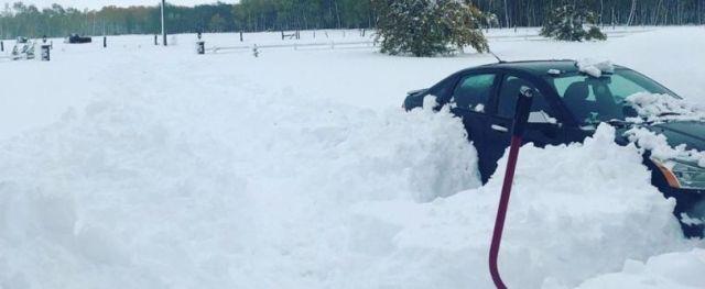 immagine 1 articolo lo storico blizzard che ha colpito il manitoba in canada video meteo
