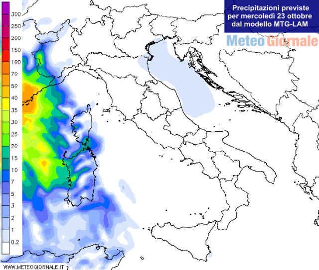 immagine 2 articolo meteo per domani sole e caldo italia peggiora sardegna