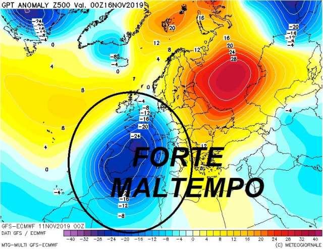 immagine 2 articolo meteo italia vastissima buca di geopotenziale le conseguenze