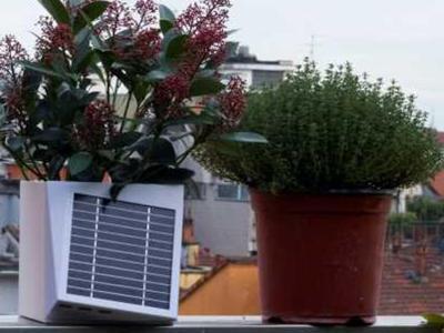 A Milano c'è Arianna, vaso hi-tech per combattere l'inquinamento in città