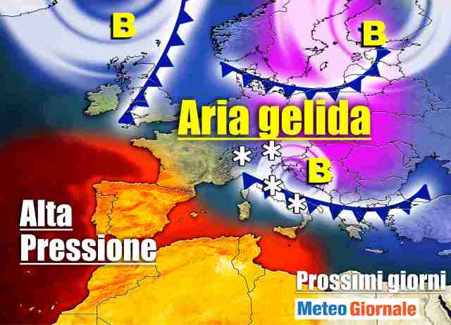 immagine 1 articolo meteo 7 giorni caldo poi freddo invernale burrascoso
