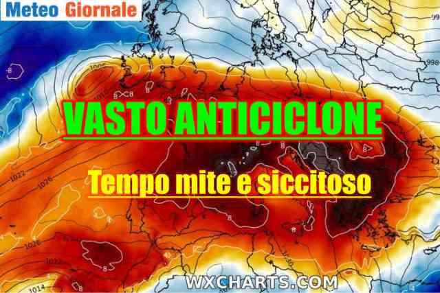 immagine 1 articolo meteo con alta pressione segue freddo fine mese