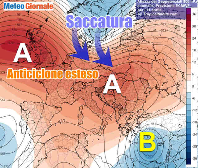 immagine 2 articolo tendenza meteo pasqua e pasquetta