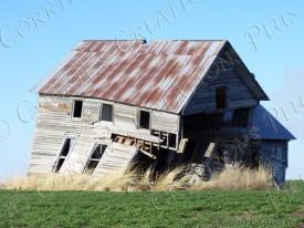The last leg; abandoned farmhouse in southeastern Nebraska