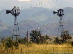 Double windmills; southeastern Arizona