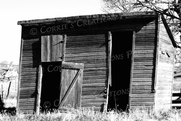 Farm building in southeastern Nebraska