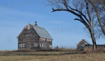 Old farm building in southeastern Nebraska