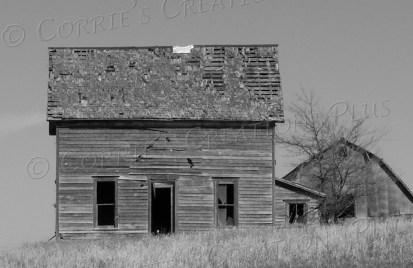 A deserted home in southeastern Nebraska