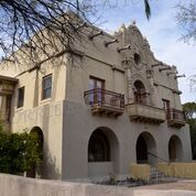 One of downtown Tucson's many historic architectural wonders