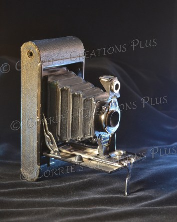 Old-Time Photography; this Kodak camera dates back a few years.