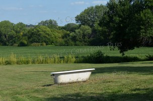 Don't even ask me how this bathtub got in the middle of nowhere! Southeastern Nebraska