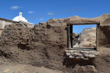 An interesting take on the mission in Tumacacori, Arizona
