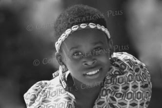Ugandan dancer