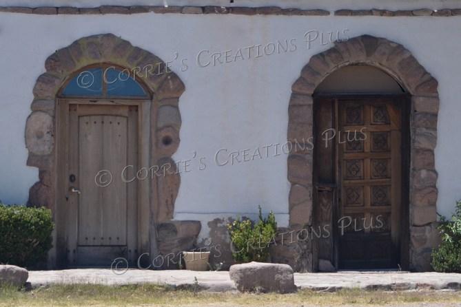 I enjoyed some of the architecture while in Tumacacori, Arizona.