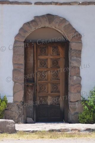 Tumacacori, Arizona, offers some interesting doors.