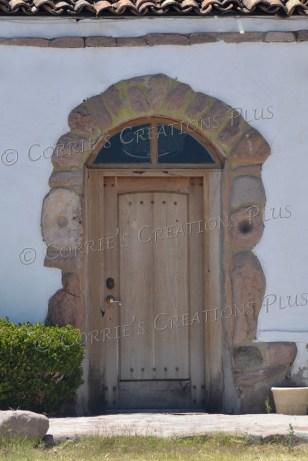 An entrance to a business in Tumacacori, Arizona