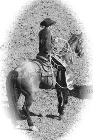 Cowboy ready to lasso