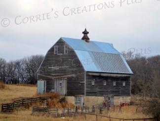 Rustic barn in southeastern Nebraska