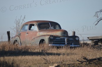 Another view of an old car in southeastern Nebraska