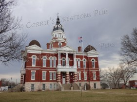 The Johnson County Courthouse in Tecumseh, Nebraska