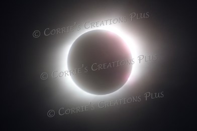 Total eclipse of the sun. Taken in Lewiston, NE, on August 21, 2017. An amazing experience!