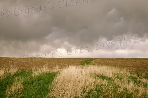 Storm clouds roll in on Nebraska's prairies