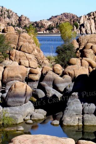 The Granite Dells and Watson Lake, just north of Prescott, Arizona