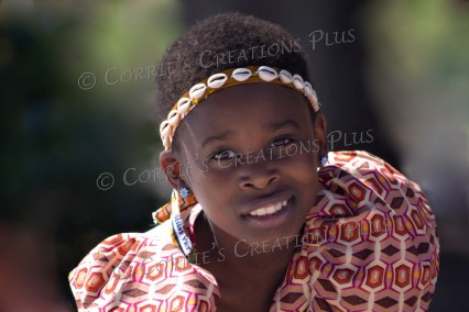 This Ugandan dancer made eye contact with me for a perfect photo.