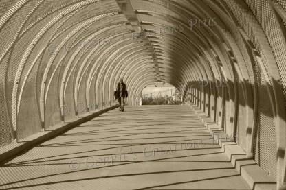 The Rattlesnake Bridge near downtown in Tucson, Arizona