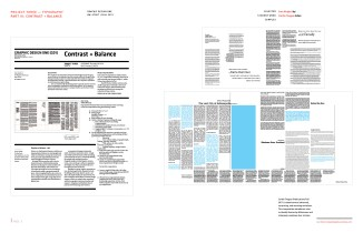 Graphic Design One: Pt. 3 Contrast and Balance