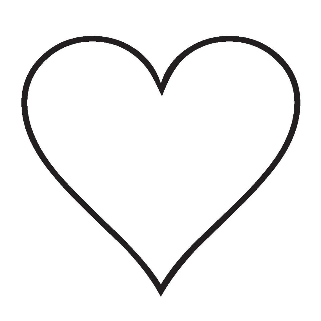 Increíble Página Para Colorear Corazón Adorno - Dibujos Para ...