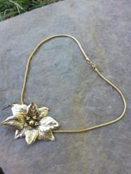 Golden Poinsettia - vintage