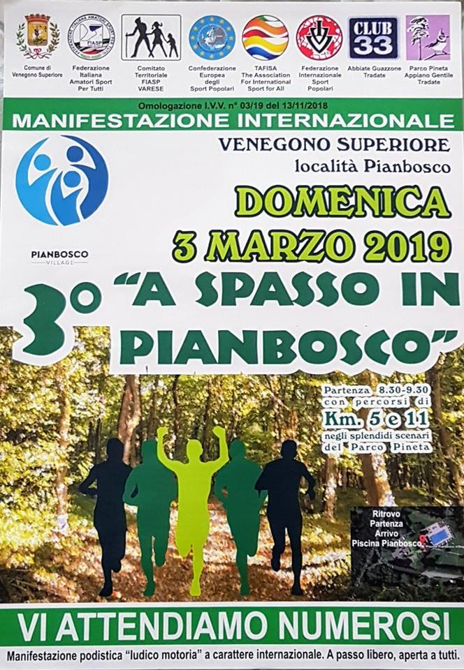 A spasso in Pianbosco 2019